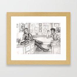Working Aurors Framed Art Print