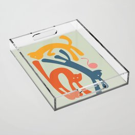 Cats Acrylic Tray