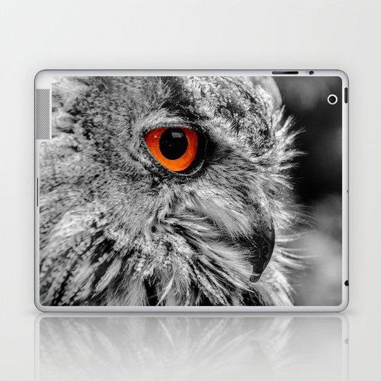ORANGE OF MY EYE Laptop & iPad Skin