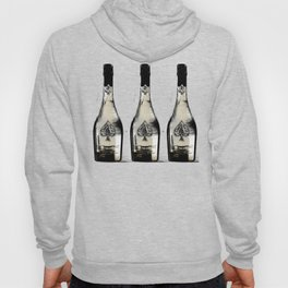 spade champagne Gold, illustration by miart Hoody