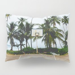 Basketball on Isla Bastimento, Bocas del Toro, Panama Pillow Sham
