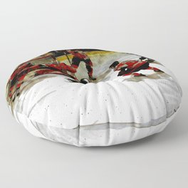 The End Zone - Ice Hockey Game Floor Pillow