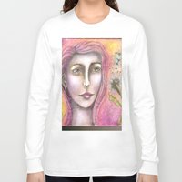 olivia joy Long Sleeve T-shirts featuring Olivia by Art by Sandy & Mariah Gonyea