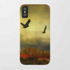 Flight Of The Blackbirds Slim Case iPhone X