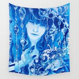 China Girl Wall Tapestry
