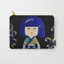 Blue Kimi Carry-All Pouch