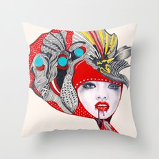 I Believe in Beauty 2 Throw Pillow