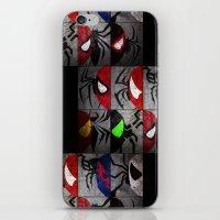 verse iPhone & iPod Skins featuring Spider-Verse by JordanJBDesigns