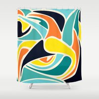 wind Shower Curtains featuring Wind by Josh Franke