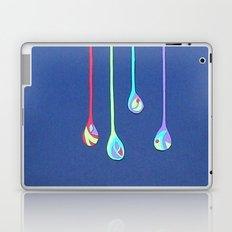 Jewel Drops Papercut Laptop & iPad Skin