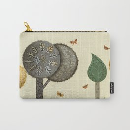 Autumn Butterflies Carry-All Pouch