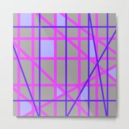 Abstract RP Metal Print