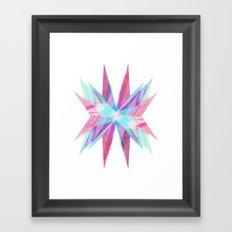 Triangles #5 Framed Art Print