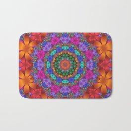 floral mandala -2- Bath Mat