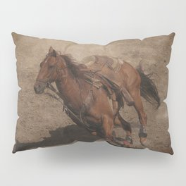Break Away Rodeo Horse Pillow Sham