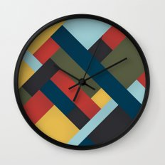 Abstrakt Adventure Wall Clock