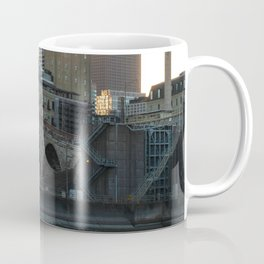 Minneapolis Minnesota Skyline Sunset at Stone Arch Bridge Coffee Mug