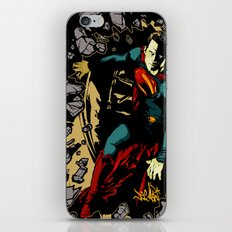 Super Steel 2 iPhone & iPod Skin