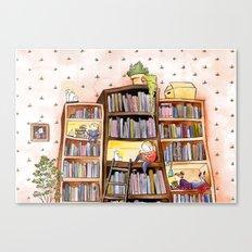 We love books Canvas Print
