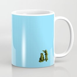 Dinosaurs vs Toy Soldiers Coffee Mug