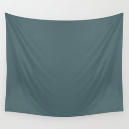 Hydro Blue Grey | Solid Colour Wall Tapestry