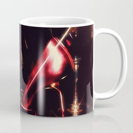 After the Set red high heels wine and music Coffee Mug