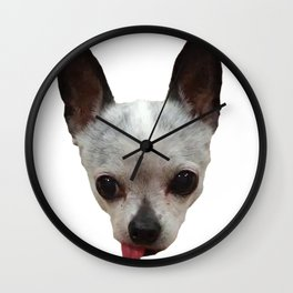 Cute Dog Head Wall Clock