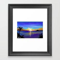 Alba Framed Art Print