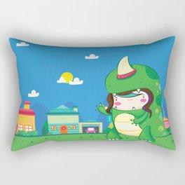 Dinozilla Rectangular Pillow