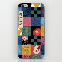 Kimetsu No Yaiba Haori iPhone Skin
