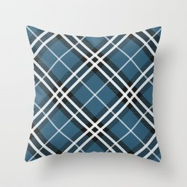 Blue Saint Andrew. Throw Pillow