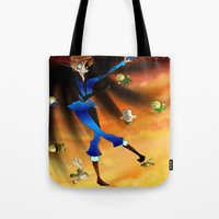 hetalia Tote Bags featuring Where The Crazy Is by InsianCat