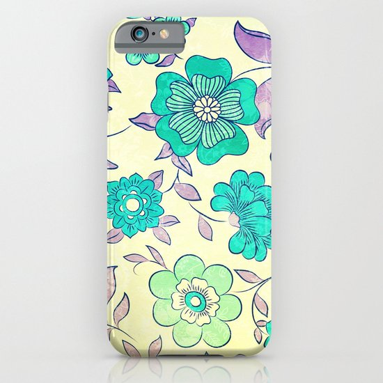 VECTOR FLOWERS II - for iphone iPhone & iPod Case