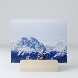 KICKING HORSE RESORT Mini Art Print