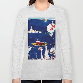 The Marina  Southport  AUSTRALIA     by Kay Lipton Long Sleeve T-shirt