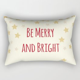 Be Merry and Bright Rectangular Pillow