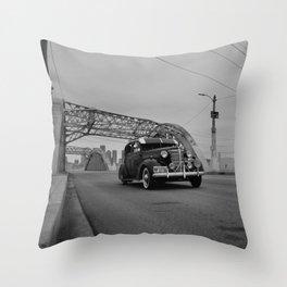 Style & Steel Throw Pillow