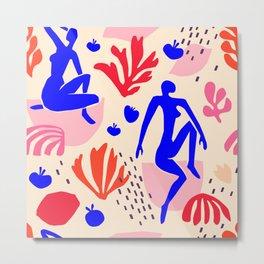 Matisse  inspired Metal Print
