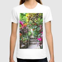 Dreamy Mexican Jungle Garden T-shirt