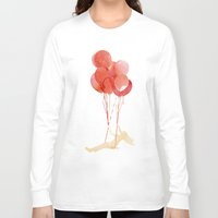 fly Long Sleeve T-shirts featuring Fly away by Robert Farkas