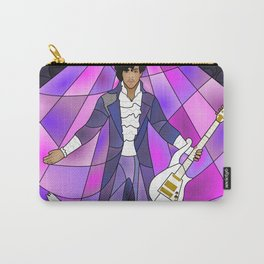 Purple Messiah Stained Glass Carry-All Pouch