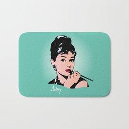 Audrey Hepburn - Tiffany - Pop Art Bath Mat
