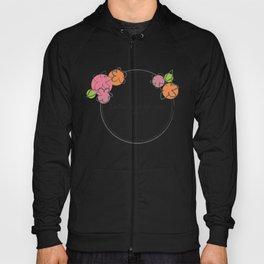 Floral - Ladies Hoody