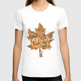 Autumn in leave T-shirt