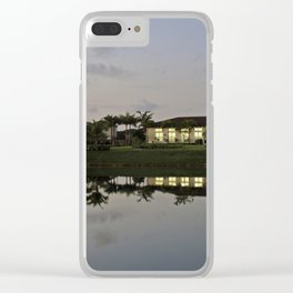 Reflections (2) Clear iPhone Case