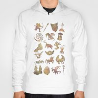 constellations Hoodies featuring 00: Constellations by mushroomtale