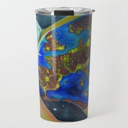 Reincarnation - lights of souls Travel Mug