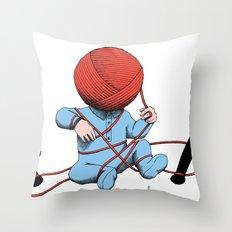 Mankind Throw Pillow