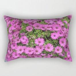 Beautiful Purple Cape Daisies Rectangular Pillow