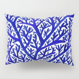 Fan Coral – Navy Pillow Sham